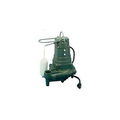 Zoeller 137-0001 Model M137 1/2 HP Flow-Mate Cast Iron Effluent Pump Flow Mate Cast