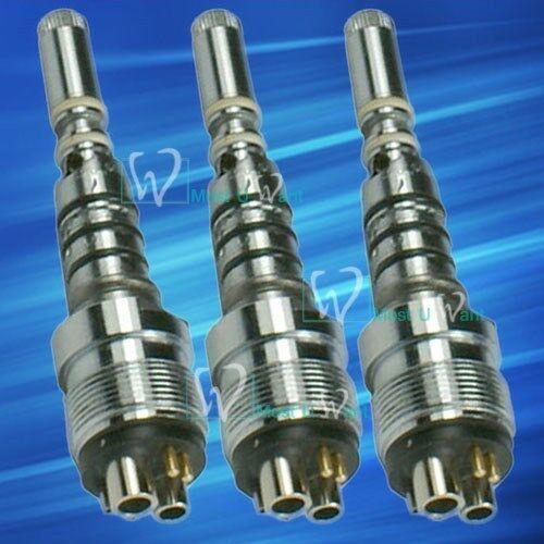 3 Dental KAVO Multiflex Style Joint Fiber LED Lamp Quick Swivel Coupling 6Hole