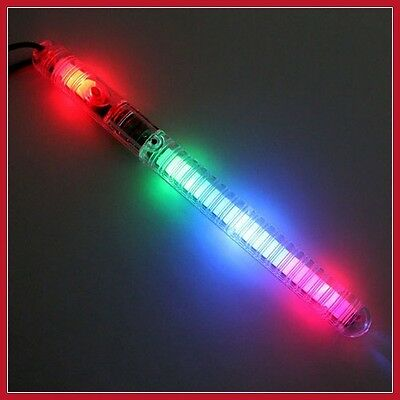 100 PCS Light-Up Sticks LED Flashing Strobe Wands Blinking Rave EDC Glow Run