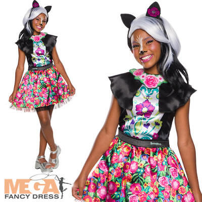 Woodland Animal Costumes (Sage Skunk Girls Fancy Dress Enchantimals Woodland Animal Kids Costume Outfit)