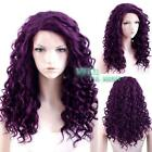 Purple Lace Wig