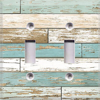 Distressed Beach House Themed Light Switch Plate Cover ~ Choose Your Cover ~](Beach Light Switch Covers)