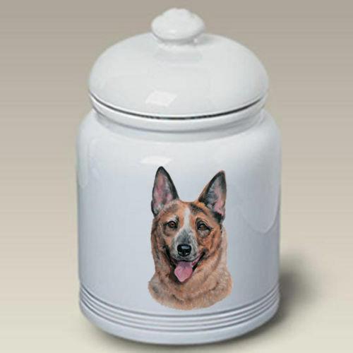 Australian Cattle Dog Ceramic Treat Jar LP 45072