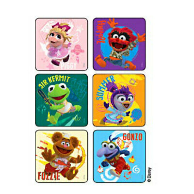 Muppets Party Supplies (25 Muppet Babies Glitter STICKERS Party Favors for Birthday Treat Loot)