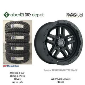 OPEN 7 DAYS LOWEST PRICE Save Up To 10% Black Rhino TEXTURED MATTE BLACK. Alberta Tire Depot.