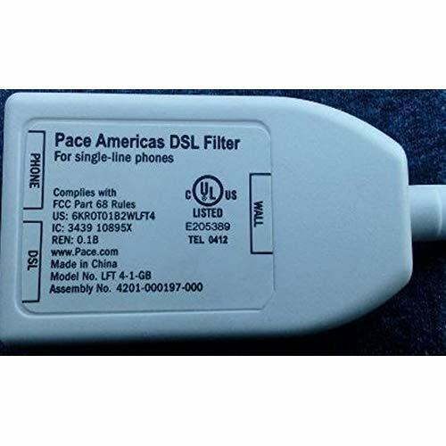 Pace Americas DSL Filter Very Good