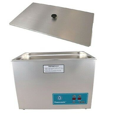Crest Powersonic Ultrasonic Cleaner 7 Gallon Timer Heat P2600h-45 Basket