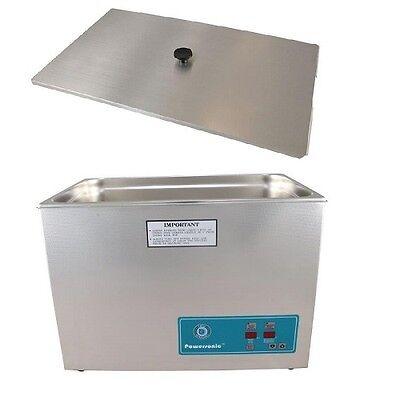 Crest Powersonic Ultrasonic Cleaner 7 Gallon Timer Heat P2600h-45 Basket