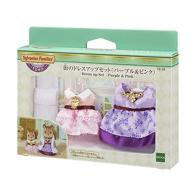 OWN GRIL SERIES JP TD-02 DRESS UP SET PURPLE & PINK EP29320 (Dress Up Gril)