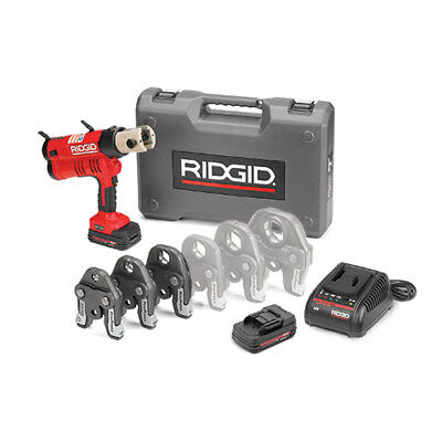 Ridgid 43353 Rp 340 Battery Press Tool Kit Wpropress Jaws12-1