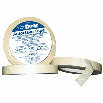 Defend Autoclave Indicator Tape For Dental Clinics 34 60 Yd Roll