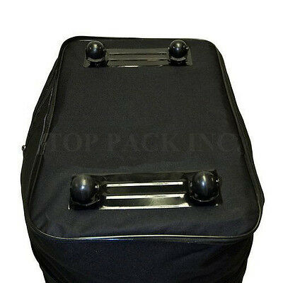 "30"" Expandable Rolling Duffel Bag Wheeled Spinner Suitcase Luggage - Heavy Duty"