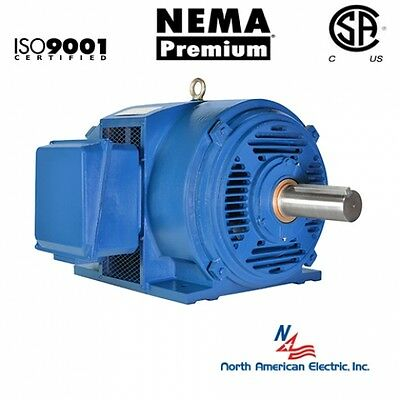 30 Hp Electric Motor 284t286t 3 Phase 1775 Rpm Open Drip Proof 208-230460