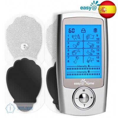 Easy@Home Alivio del dolor Electroestimulador TENS y electroestimulación