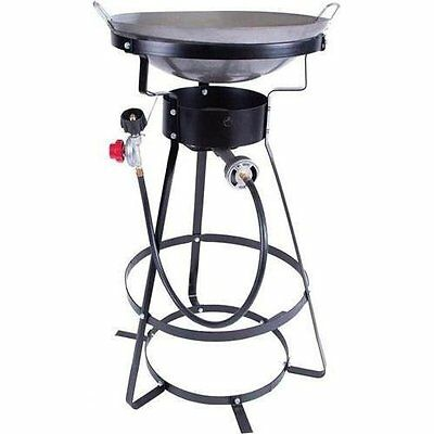 Stansport 54000 Btu Outdoor Cooker With Wok 217-100