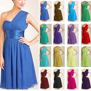 W22045-Bridesmaid-dresses-Evening-Cocktail-One-Shoulder-Prom-Dress-Gown-Party