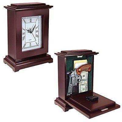 - Peace Keeper Tall Rectangular Working Clock Gun Concealment Diversion Safe
