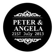 Personalised Wedding Stickers