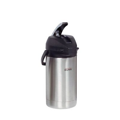 Bunn 3.0l Stainless Steel Air Pot - 3.2 Quart 3 L - Stainless Steel -