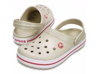 Size 10 BNWT Crocs Crocband Sandals