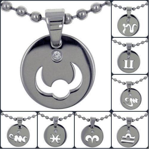 Napier Zodiac Medallion Pendant Necklace: Zodiac Medallion: Jewelry & Watches