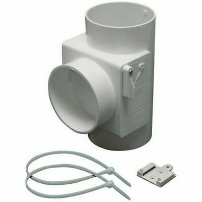 Lambro 1700 Heat Economizer White Plastic Dryer Vent Use wit