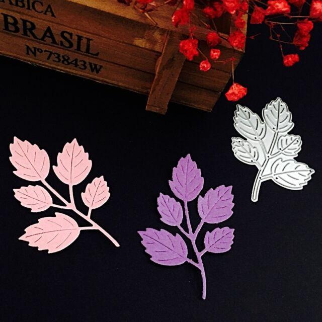 Metal Leaf Cutting Dies Stencil DIY Scrapbooking Album Paper Card Decor Craft