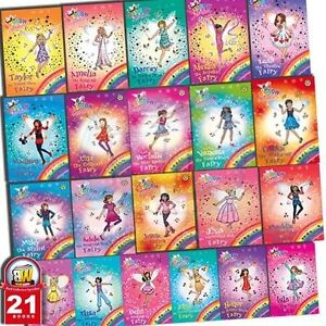 Daisy-Meadows-The-Rainbow-Magic-Series-21-Books-Collection-Set-New-Pack