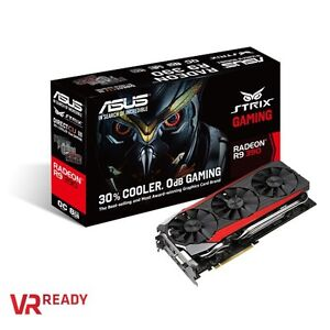 Asus Strix R9 390 8GB. Comme neuf