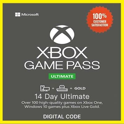 Xbox Live 1 Month Gold & Game Pass Ultimate 2 x 14 Day Code - Instant Delivery