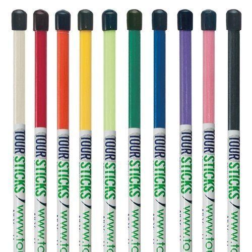 4 Single Tour Sticks Golf Alignment Sticks Tour Sticks Tour Training Aid