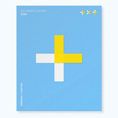 TXT [THE DREAM CHAPTER:STAR] Album CD+PhotoBook+3p Card+2ea Sticker K-POP SEALED