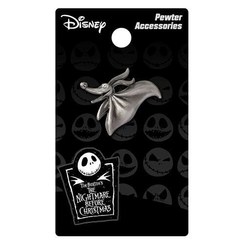 Disney Nightmare Before Christmas NEW *Zero Lapel Pin * Ghost Dog Pewter Charm