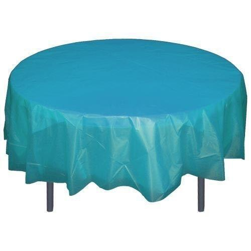 84 round tablecloth ebay for 120 round plastic table covers