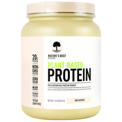 Isopure Nature's Best Vegan Plant-Based Protein Powder 20 Servings PICK (Best Vegan Plant Based Protein Powder)