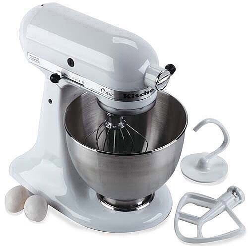 Kitchenaid Classic White Stand Mixer Brand New in Box