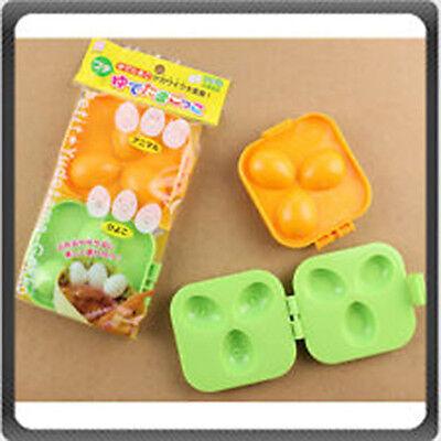 Japanese Plastic Bear Bunny Dog Shapes Quail Egg Mold for Bento Box