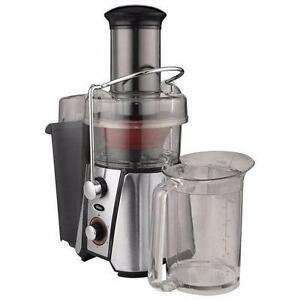 Oster JusSimple Centrifugal Juicer - Stainless Steel/Black