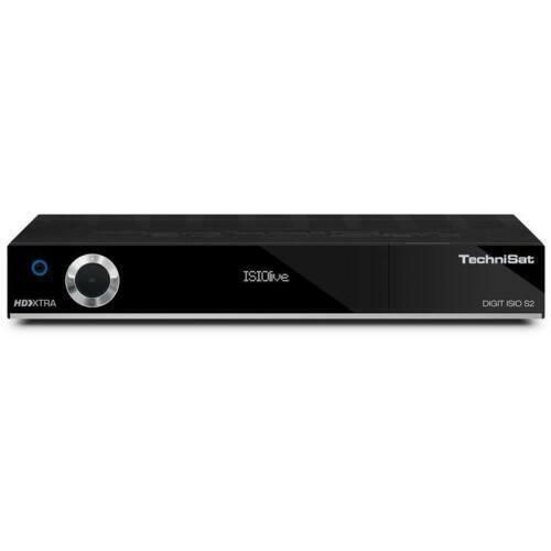 TechniSat DIGIT ISIO S2 Receiver HDTV Sat Twin-Tuner Button Smart DVB HbbTV