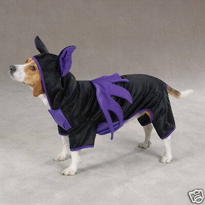 new Casual Canine Bat Dog Halloween Costume size XS M XL - Bat Dog Halloween Costume