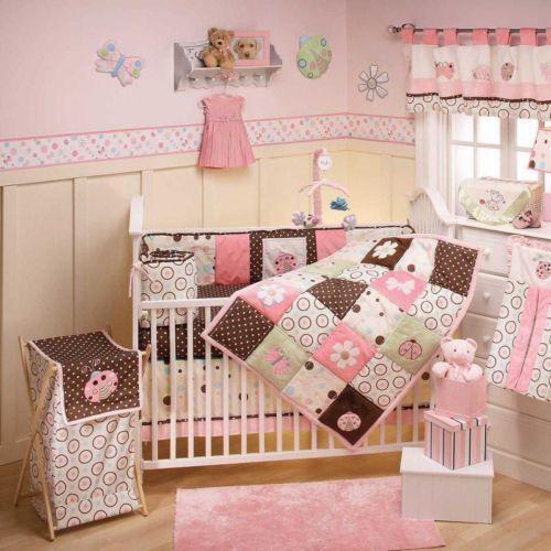 Green Brown Crib Bedding Ebay