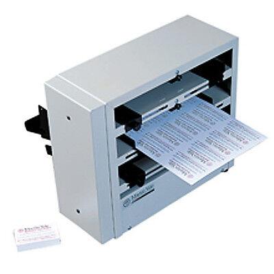 Bcs 412 12 Up Electric Business Card Slitter Perforator Scoring Machine
