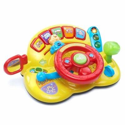 - Steering Wheel Driving Toy Early Education Play Infants Toddlers Preschoolers
