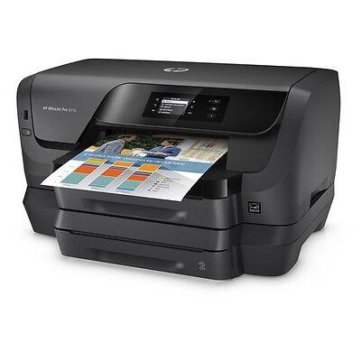 Hp Officejet Pro 8216 Inkjet Color Photo Printer T0g70a Duplex 34Ppm Wireless