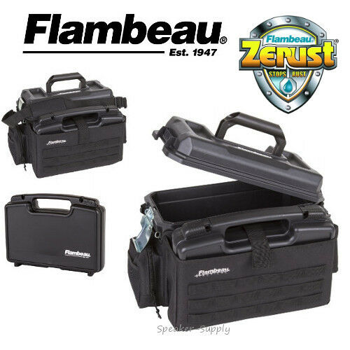 Flambeau Outfit Range Box Bag Hardside Softside Pistol Case