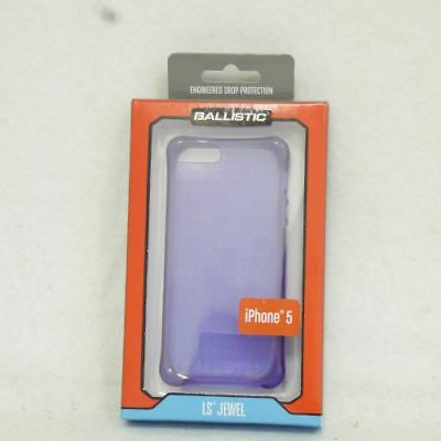 Ballistic LS Jewel Case for Apple iPhone 5 5S Purple 63-2335-05-US FREE SHIPPING ()