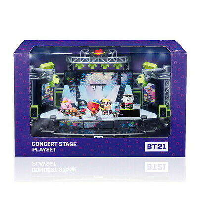 BT21 concert stage playset convertible with collectible figure vol3