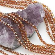 Faceted Amber Beads