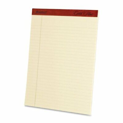 Ampad Heavyweight Writing Pad 8.5 X 11.75 Inches Ivory 50-sheet Pad 4 Pads P