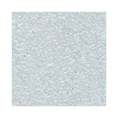 Miyuki Seed Beads 15/0 Round 15-250 Transparent Crystal Clear AB 8.2g Glass Tiny